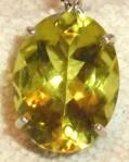 245 yellow brooch 660626
